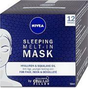 NIVEA SLEEPING MELT-IN MASK BY HYALURON CELLULAR FILLER 50ml