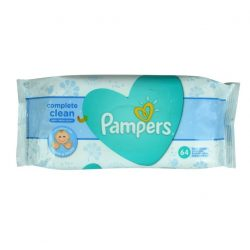 Pampers Complet Clean Baba törlőkendő 64 Darabos Kiszerelés