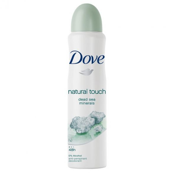 Dove Natural/ Mineral Touch dezodor 150ml