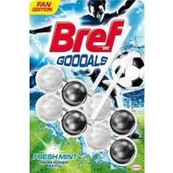 Bref Power Active Goooals Fresh Mint WC tisztító blokk 2x50g