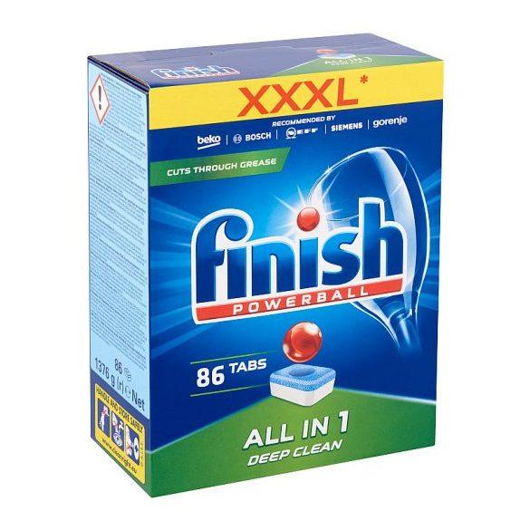 Finish Powerball All in One Deep Clean mosogató tabletta 86db
