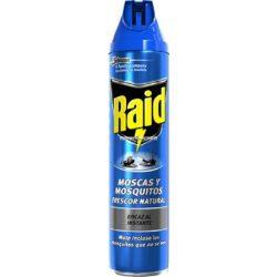 RAID Kék Szúnyog- légyirtó spray 600ml- nagy kiszerelés