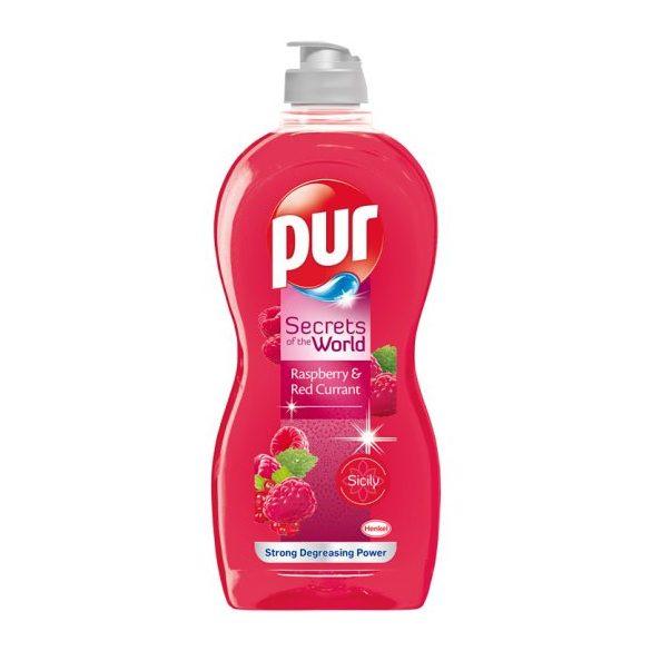 Pur Secrets of the World Raspberry & Red Currant kézi mosogatószer 450 ml