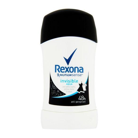 Rexona Invisible Aqua izzadásgátló stift 40 ml