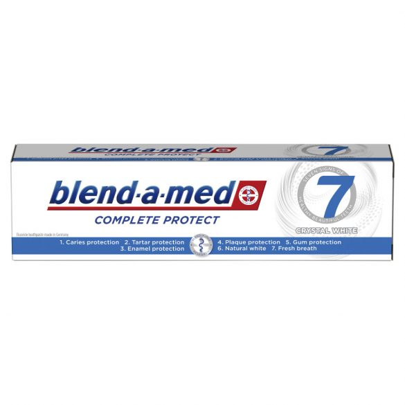 Blend-a-med Complete Protect 7 Crystal White Fogkrém, 125ml