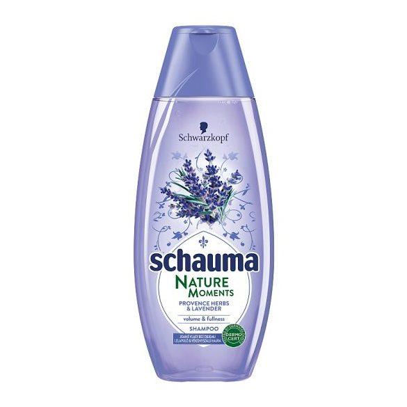 Schauma Nature Moments Provence-i Gyógynövények & Levendula sampon 400 ml