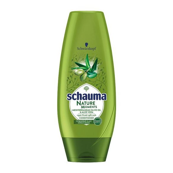 Schauma Nature Moments Mediterrán Olívaolaj & Aloe Vera hajbalzsam 200 ml