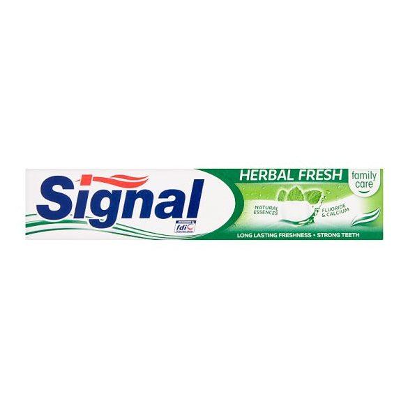 Signal Family herbal fresh fogkrém 75 ml