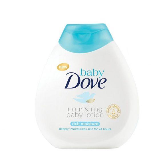 Dove baby testápoló rich moisture 200ml