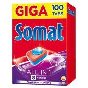Somat All in One gépi mosogatószer tabletta 100 db 1800 g