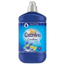 Coccolino Creations Passion Flower & Bergamot 67 mosás öblítő koncentrátum 1,68 L, 1680 ml