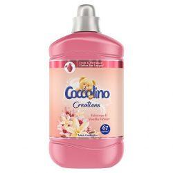 Coccolino Creations Tuberose & Vanilla Flower Öblítő koncentrátum 67 mosás 1,68L 1680 ml