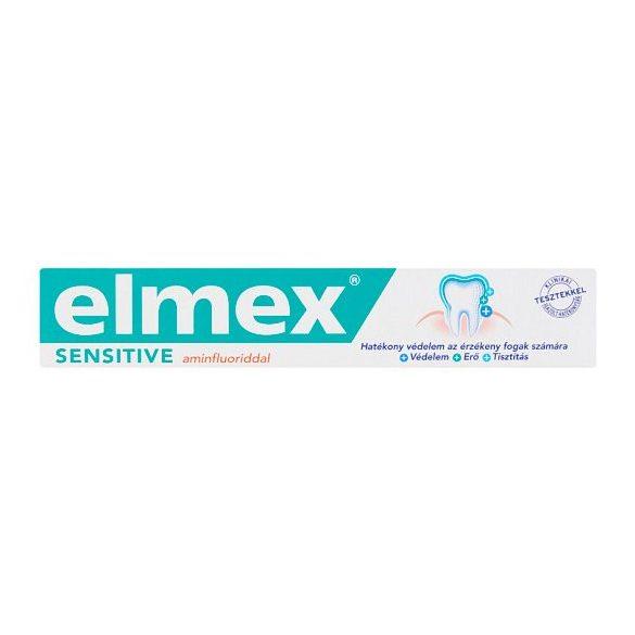 elmex Sensitive fogkrém aminfluoriddal 75 ml