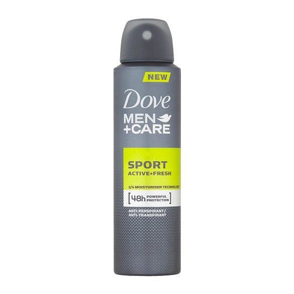 Dove Men+Care Sport Active+Fresh izzadásgátló dezodor 150 ml