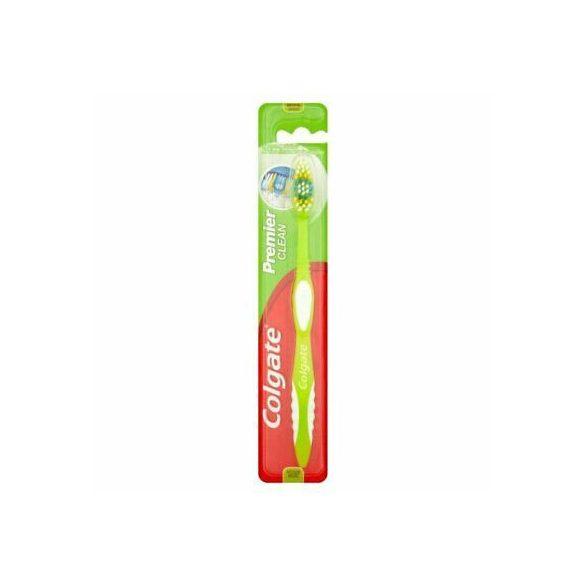 Colgate Premier Clean közepes sörtéjű fogkefe