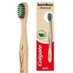 Colgate Bamboo Charcoal lágy fogkefe 1db