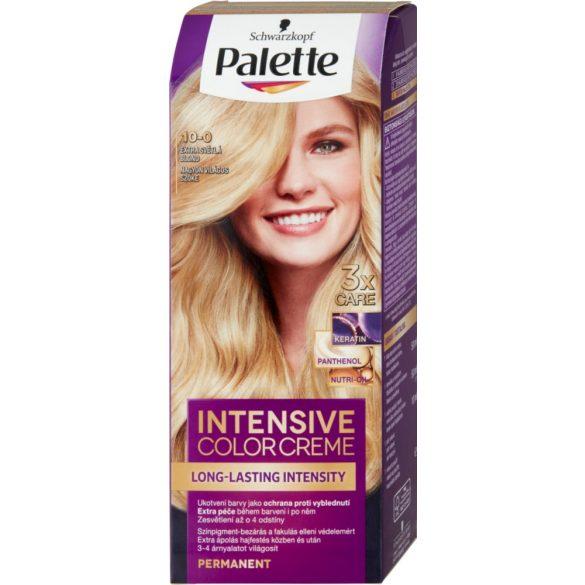 Palette Intensive Color Creme Tartós hajfesték nagyon világos szőke 10-0 1db
